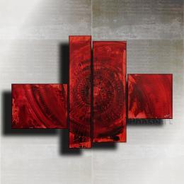 """Acrylgemälde Abstrakt """"Lascaux"""""""