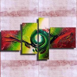 """Doublex""Acryl Bild Abstrakt Kunst ORIGINAL!"