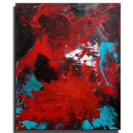 "Acrylgemälde Abstrakt ""Flamenco"""